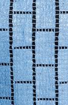 Tibi 'Raffia Patchwork' Crop Top