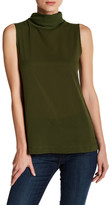French Connection Polly Plains Funnel Neck Tank
