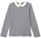 Petit Bateau Girls long-sleeved ribbed T-shirt