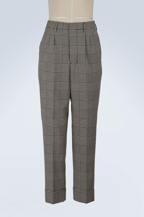 Ami Carrot trousers with pleats