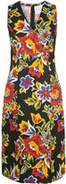 Carolina Herrera digital flowers sheath dress