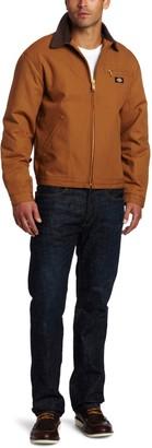 Dickies Men's Big-Tall Rigid Duck Blanket Lined Jacket