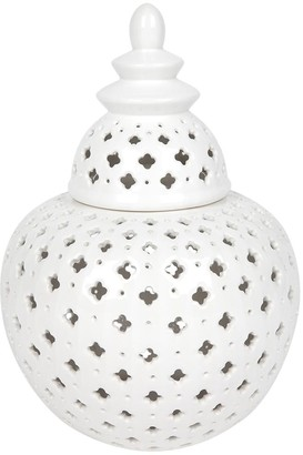 Cafe Lighting Miccah Temple Jar White Large