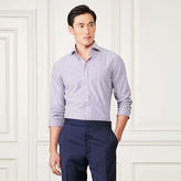 Ralph Lauren Purple Label Striped Cotton Poplin Shirt