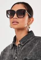 Missguided Quay X Chrissy Taupe Ever After Sunglasses