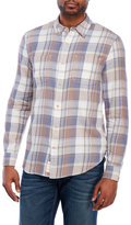 Lucky Brand Plaid Patch Pocket Shirt