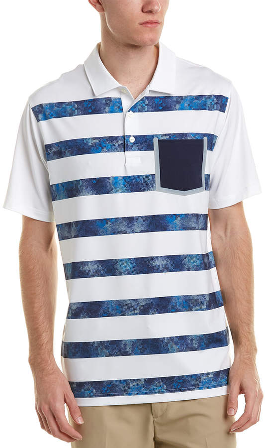 Puma Camo Stripe Polo
