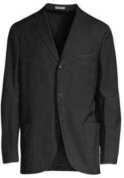 Boglioli Herringbone Wool Jacket