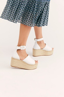 Free People Fp Collection Coastal Platform Wedge Sandals by FP Collection at