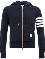 Thom Browne zipped hoody - men - Cotton - 40