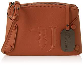 Trussardi Jeans Women's 75B00456-9Y099999 Cross-Body Bag Red