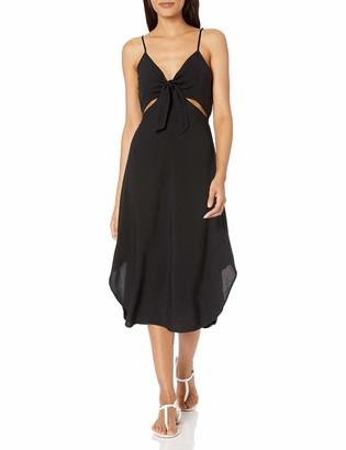 La Blanca Women's Cutout Front Tie Dress Swimsuit Cover Up