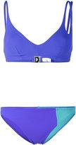 Araks Elias triangle cutout bikini - women - Nylon/Spandex/Elastane - XS