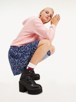 Tommy Hilfiger Ditsy Floral Print Mini Skirt