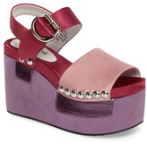 Jeffrey Campbell Women's Branta Platform Wedge Sandal
