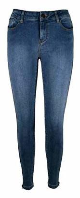 Vero Moda Women's Vmseven Nw Slim Zip Ankle J Gu200 Noos Jeans