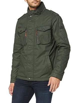 Camel Active Men's 430190/2r65 Jacket, Green 32, (Size: 102)