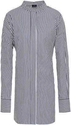 Joseph Carla Tie-back Striped Cotton-poplin Tunic