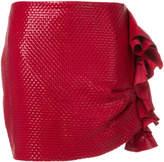 Magda Butrym ruffled mini skirt