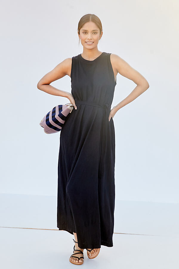Thumbnail for your product : Velvet by Graham & Spencer Knit Maxi Dress By in Green Size XS