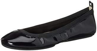Yosi Samra Women's Samara Flat Patent 2.0 W Ballet Flats, Black (Black), Size: