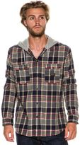 Quiksilver Fellow Player Hooded Ls Shirt