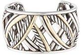 David Yurman Two-Tone Cuff Bracelet