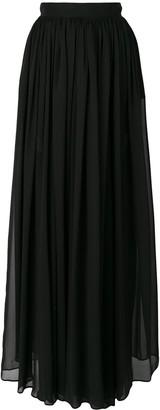 Elie Saab long pleated skirt