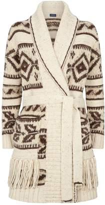 Polo Ralph Lauren Wool-Alpaca Belted Cardigan