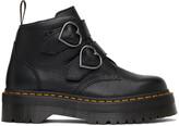 Thumbnail for your product : Dr. Martens Black Devon Heart Platform Boots