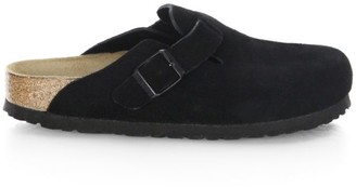 Birkenstock Boston Suede Mules