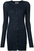Mantu long length buttoned cardigan - women - Polyamide/Viscose - 38