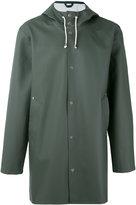 Stutterheim Stockholm raincoat - women - PVC/Cotton/Polyester - L