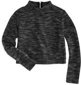 Pinc Premium Girls' Space Dyed Knit Crop Top