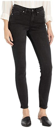 Silver Jeans Co. Most Wanted Mid-Rise Skinny Jeans in Black L63022SBK577 (Black) Women's Jeans