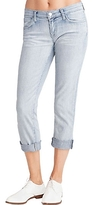J Brand 9036 Aoki Distressed Cropped Cuff Jean in Afterlife