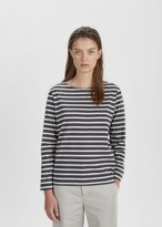 Mhl By Margaret Howell Naval Stripe Jersey Tee