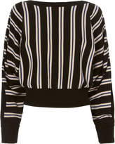 3.1 Phillip Lim Striped Boat Neck Pullover