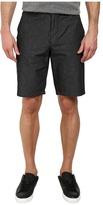 DKNY Horizontal Stripe Chambray Trouser Shorts