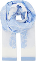 Diane von Furstenberg Serret Hortensia cotton-silk blend scarf