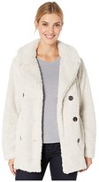 True Grit Dylan By Dylan by Teddy Sherpa Peacoat (Natural) Women's Clothing