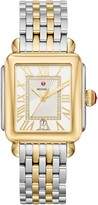 Michele Deco Madison Diamond Dial Watch Head & Bracelet, 33mm