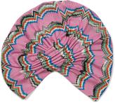 Missoni Zigzag-knit turban