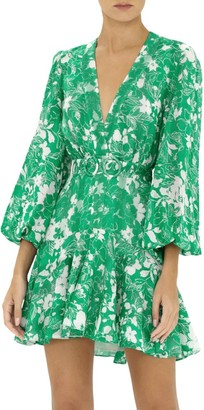 Alexis Neala Floral Flounce Dress