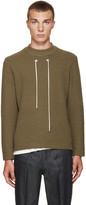 Craig Green Green Bouclé Sweater