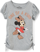 Jerry Leigh Gray Heather Minnie Mouse 'One of a Kind' Side-Tie Tee - Women's