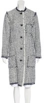 Lanvin Tweed Knee-Length Coat