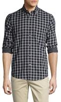 Ben Sherman Checkered Button Down Sportshirt