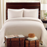 JCPenney Lamont Home Lanai Basketweave Coverlet Set