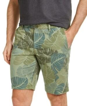 "Tommy Bahama Men's Camo Fronds Stretch Leaf-Print 10"" Shorts"